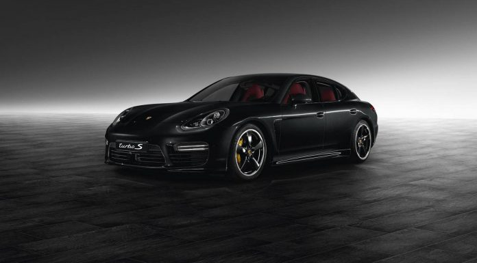 Jet Black Metallic Panamera Turbo S by Porsche Exclusive