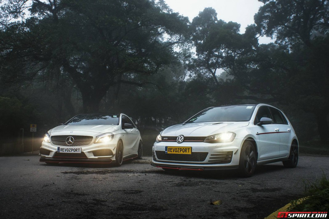 Exclusive: Revozport RZA290 and Golf GTI Photoshoot