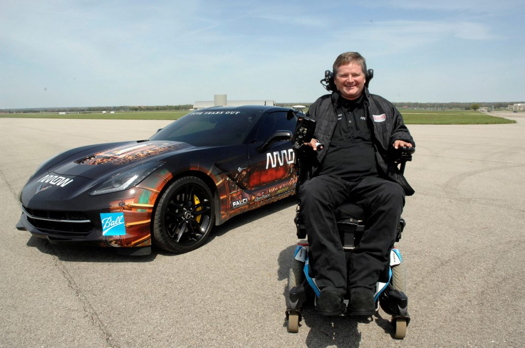Quadriplegic to Drive Semi-Autonomous Corvette Stingray at Indy 500