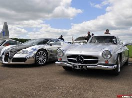 Jets and Supercars Event in the UK