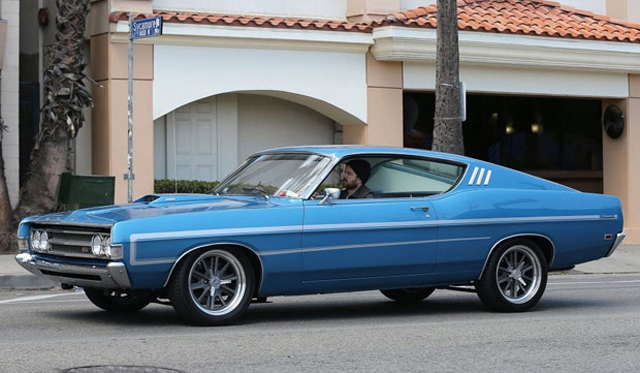 Aaron Paul Spotted in Ford Torino GT From Need for Speed