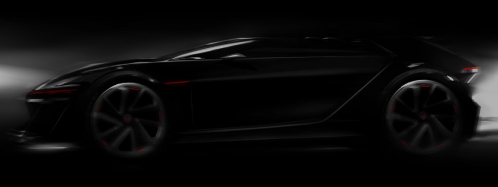 Volkswagen Teases Upcoming GTIVision Gran Turismo Concept