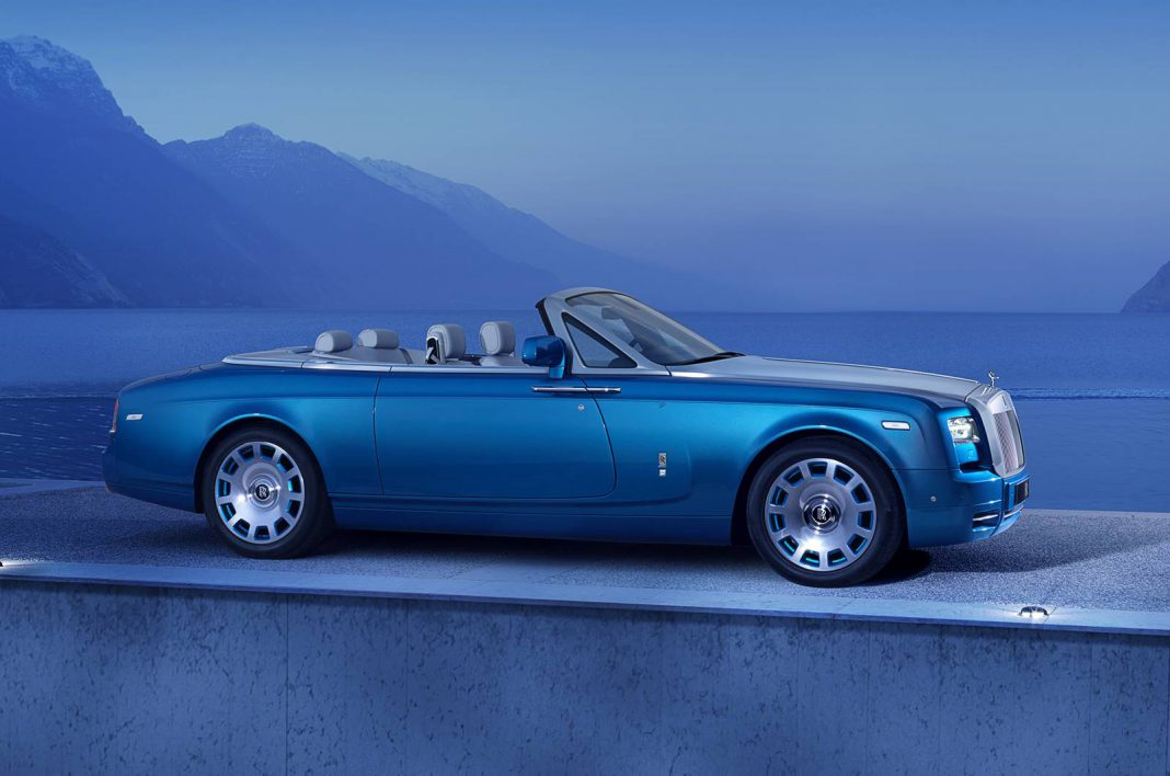 Official: Rolls-Royce Phantom Drophead Coupe Waterspeed Collection