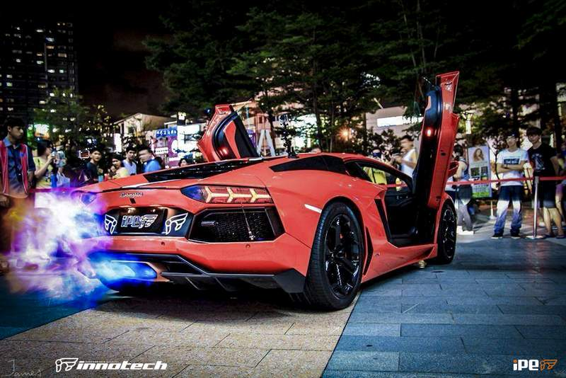 Photo Of The Day: Lamborghini Aventador Spits Fire!