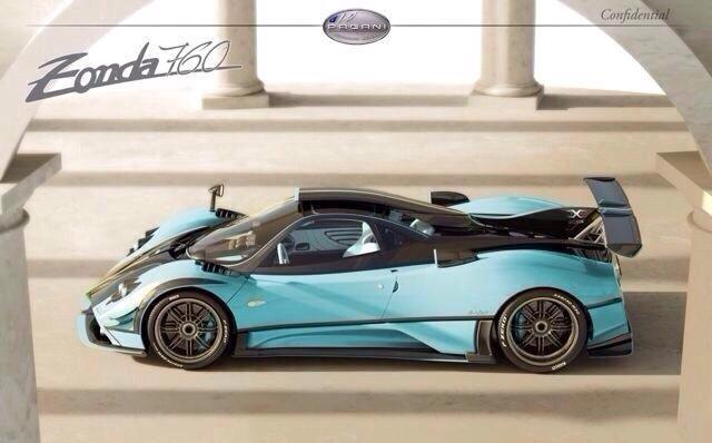 One-off Pagani Zonda 760 X Uncovered