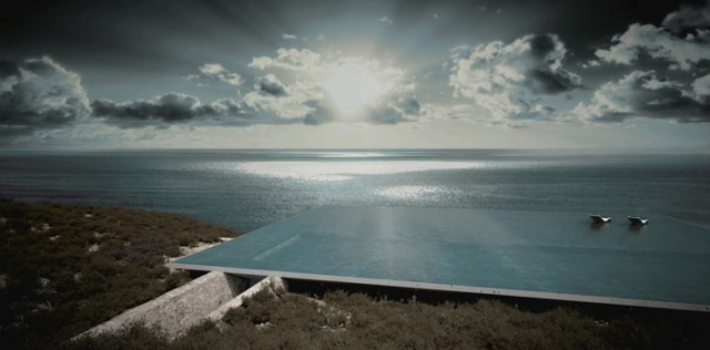 Greek Island House With Infinity Pool Roof Is Amazing!