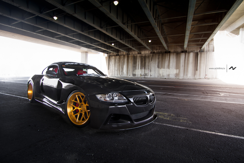 Mint Widebody BMW Z4M by Slek Designs