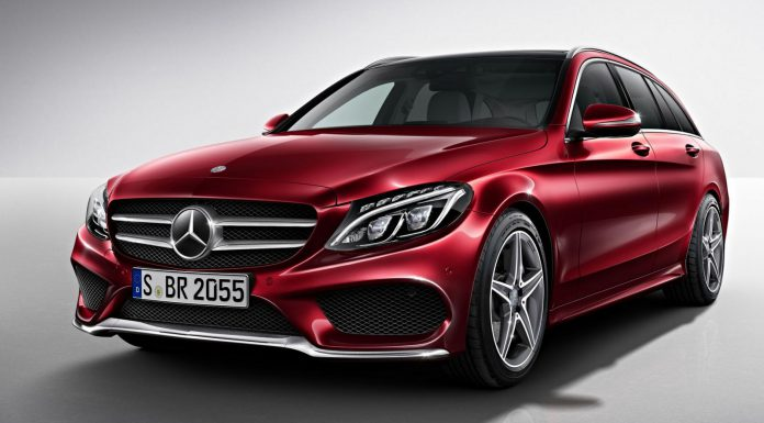 Official: 2015 Mercedes-Benz C-Class Estate AMG Line