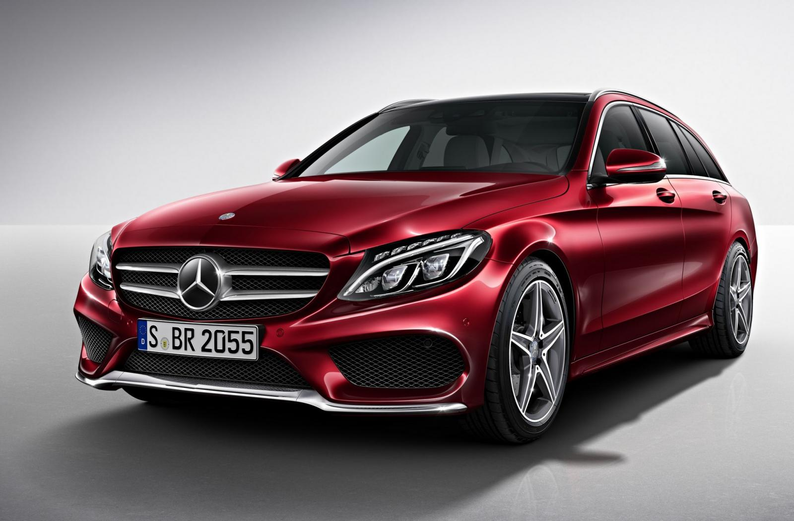 Official: 2015 Mercedes-Benz C-Class Estate AMG Line ...