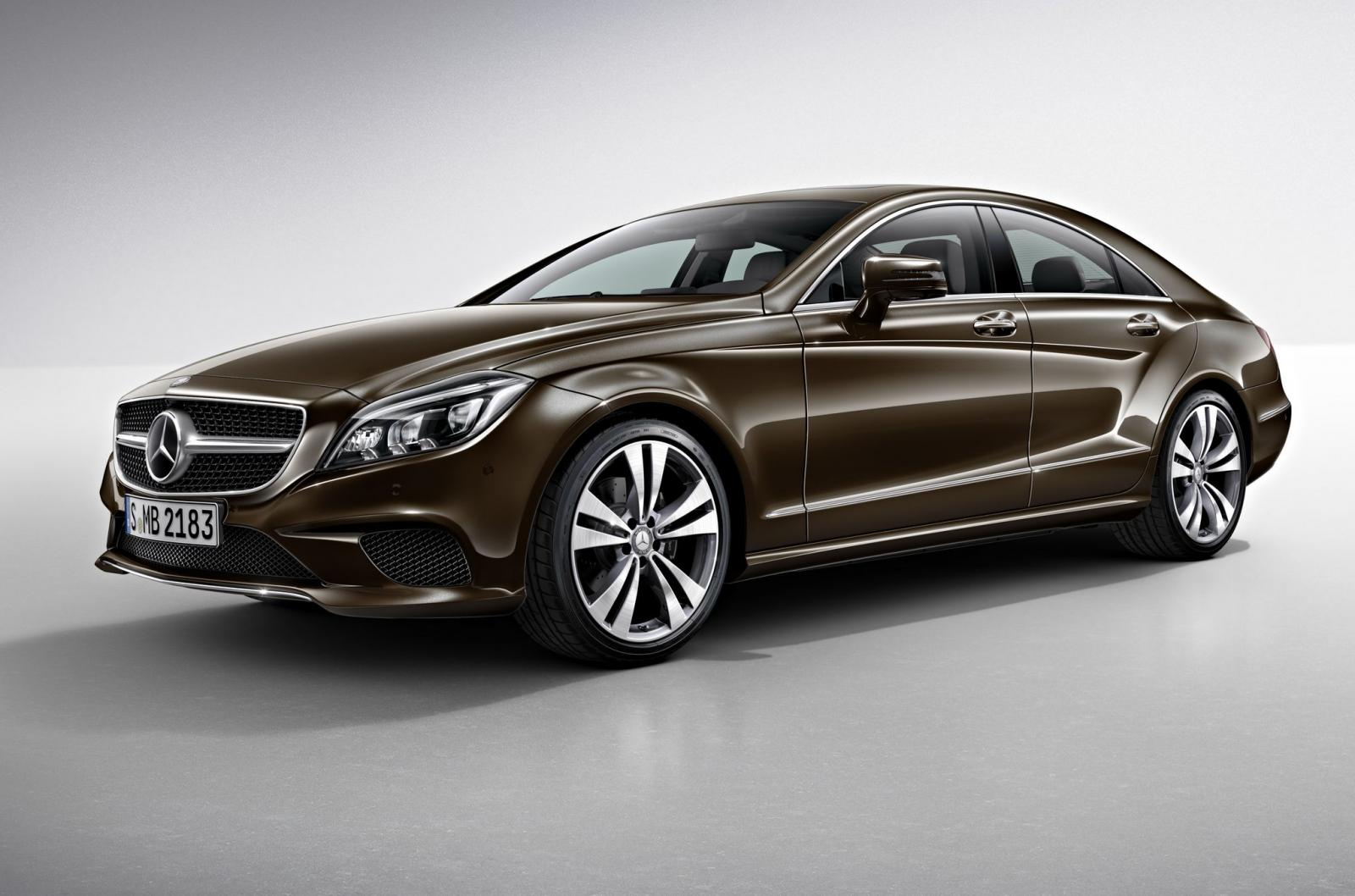 official 2015 mercedes benz cls sport and night packages gtspirit. Black Bedroom Furniture Sets. Home Design Ideas