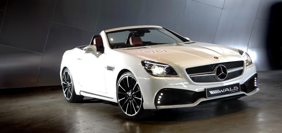 Official: Mercedes-Benz SLK Black Bison by Wald International