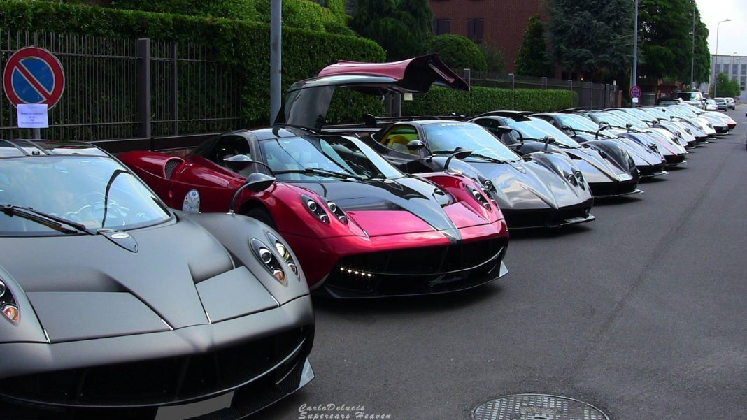 2014 Vanishing Point Pagani Gathering