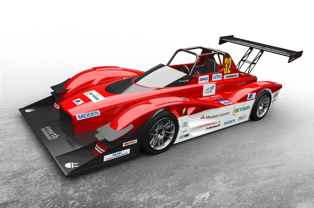 New Mitsubishi MiEV Evolution III Previewed for Pikes Peak 2014