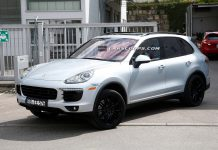 2015 Porsche Cayenne Spotted Virtually Undisguised
