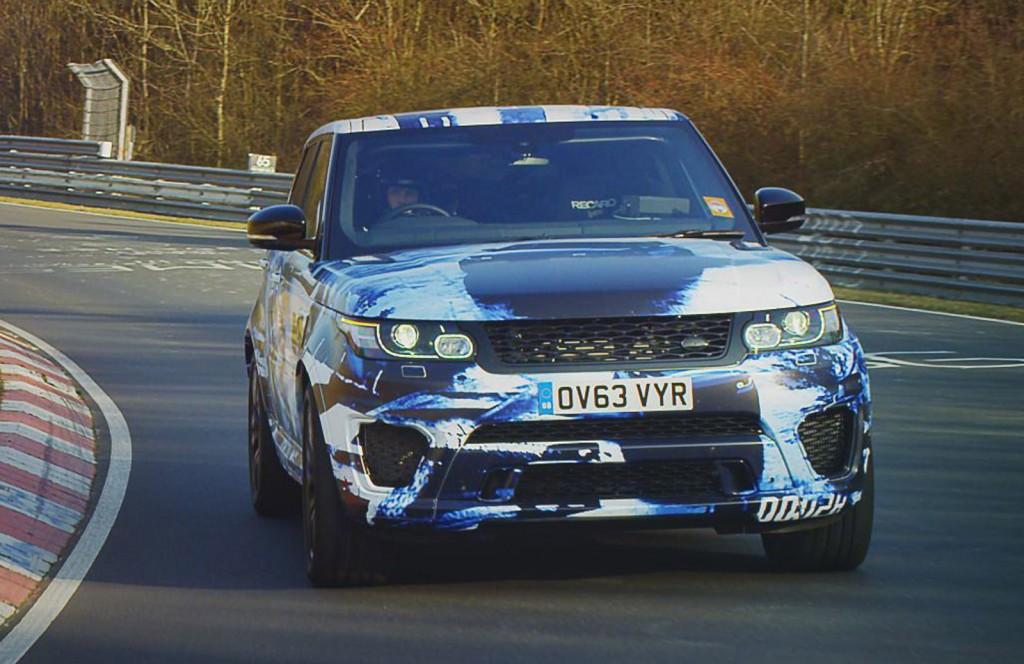 First Details on Range Rover Sport SVR Revealed