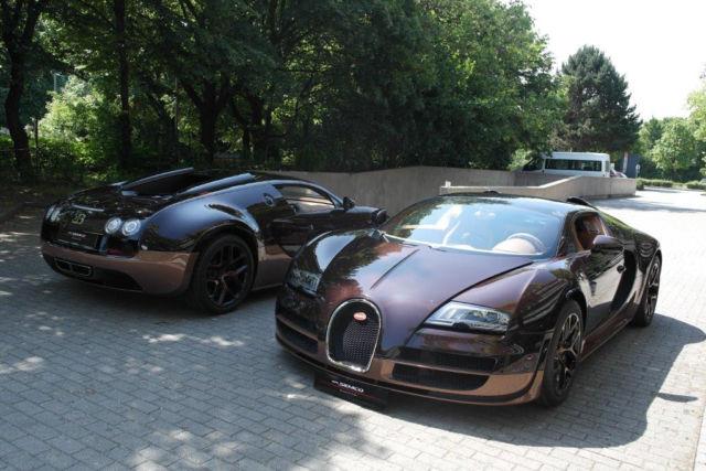 Two Bugatti Veyron Grand Sport Vitesse Rembrandt's For Sale in Munich!