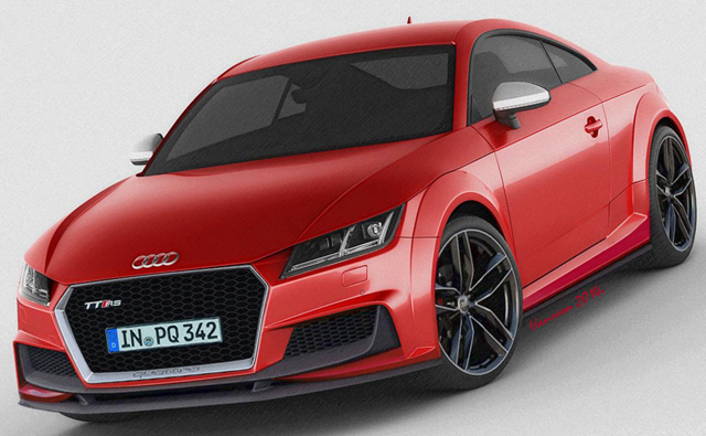 Please Let the Next Audi TT RS Look Like This!