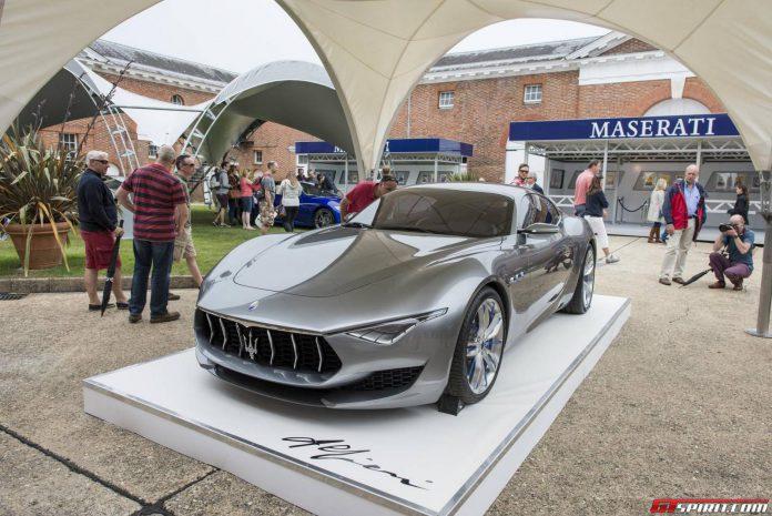 Goodwood FOS 2014: Best of Maserati Cars