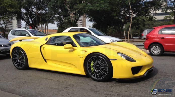 The First Porsche 918 Spyder in Brasil
