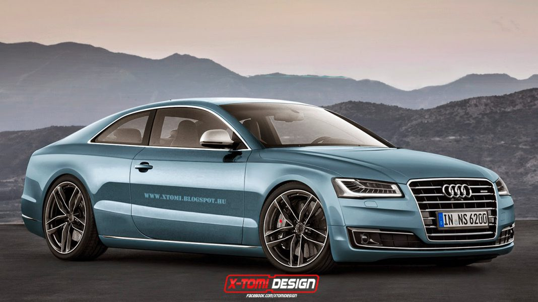 Audi R8 Coupe Rendering is Promising