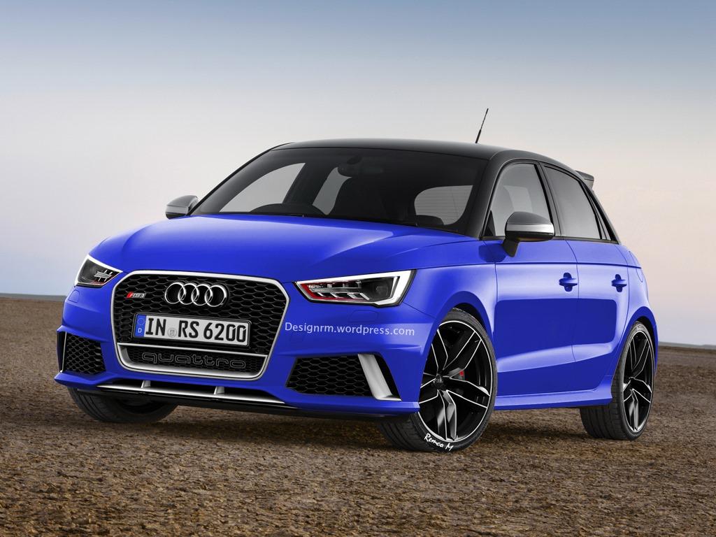 Audi RS1 Sportback Rendered