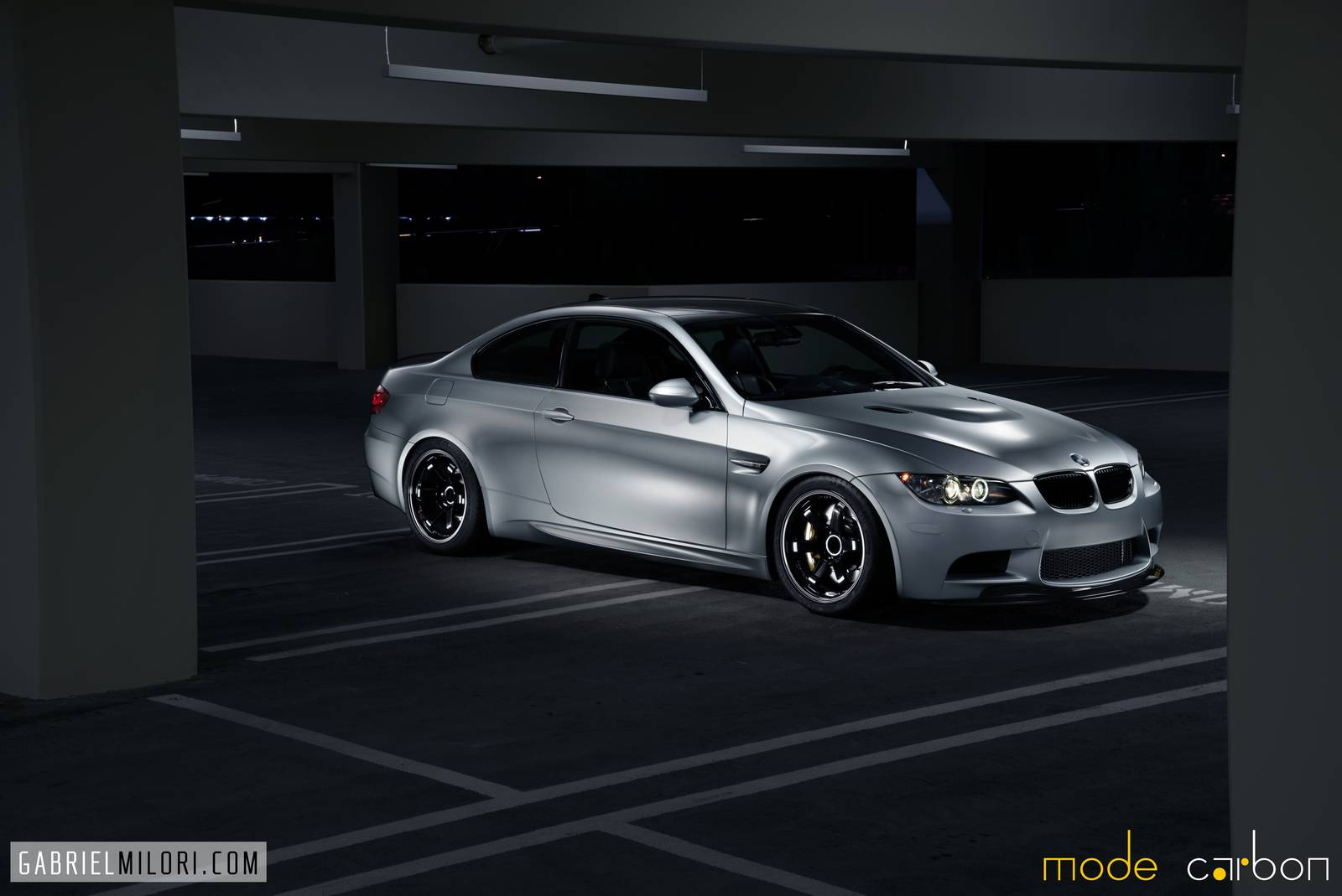 Stoptech Brake Kit >> Santorini Blue and Frozen Silver Duo BMW M3 by Mode Carbon ...