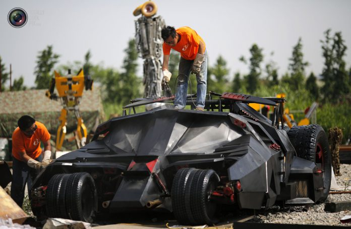 Incredible Homemade Batmobile in China