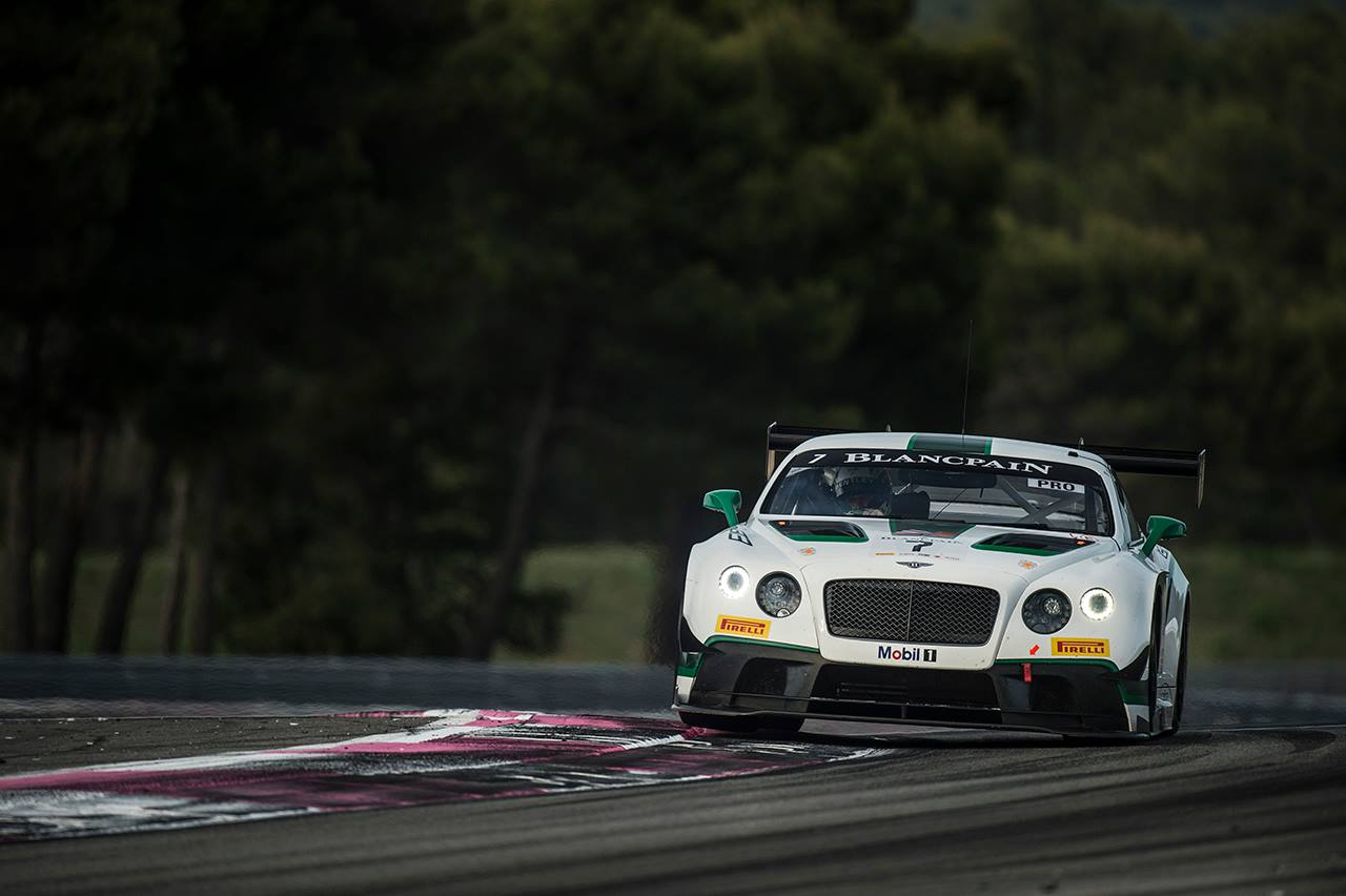 blancpain endurance series bentley sweeps second win in a row at paul ricard car pictures. Black Bedroom Furniture Sets. Home Design Ideas