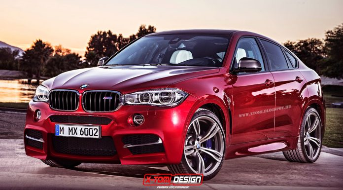 Updated BMW X6 M Rendered