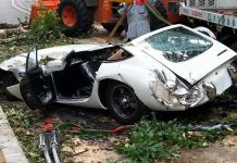 Million-Dollar Toyota 2000GT Wrecked in Japan