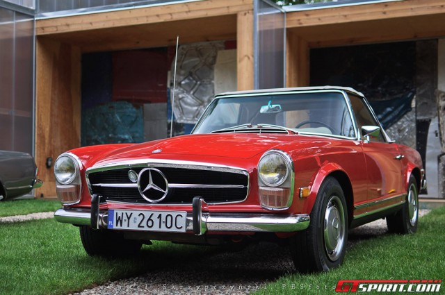 Gallery mercedes benz pagoda sl club meeting in poland for Mercedes benz route 22