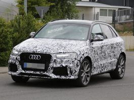 Facelifted Audi RS Q3 Spied Testing