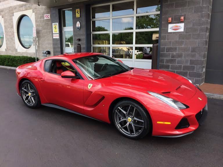 One Off Ferrari F12 Sp America Spotted In New York Gtspirit