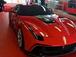 Ferrari F12 TRS Leaked Photos