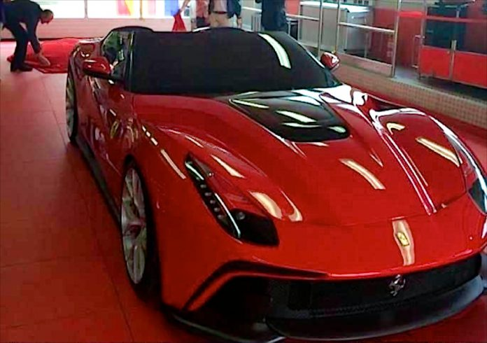 Ferrari F12 TRS Leaked Photos