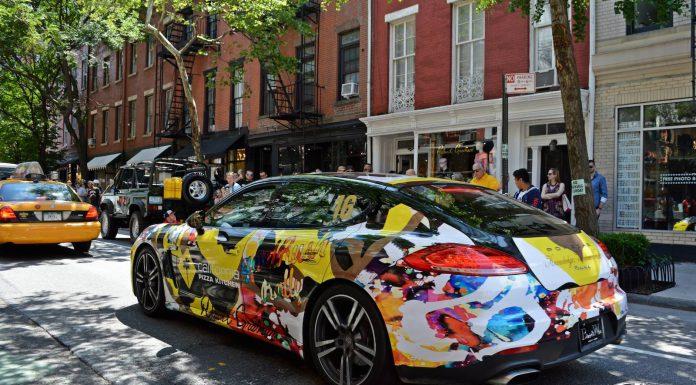 GoldRush Rally VI NYC Finish Line