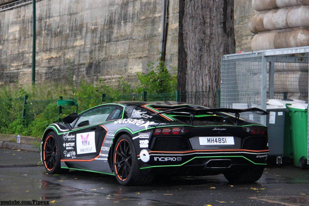 2014 Gumball 3000 Arrival in Paris