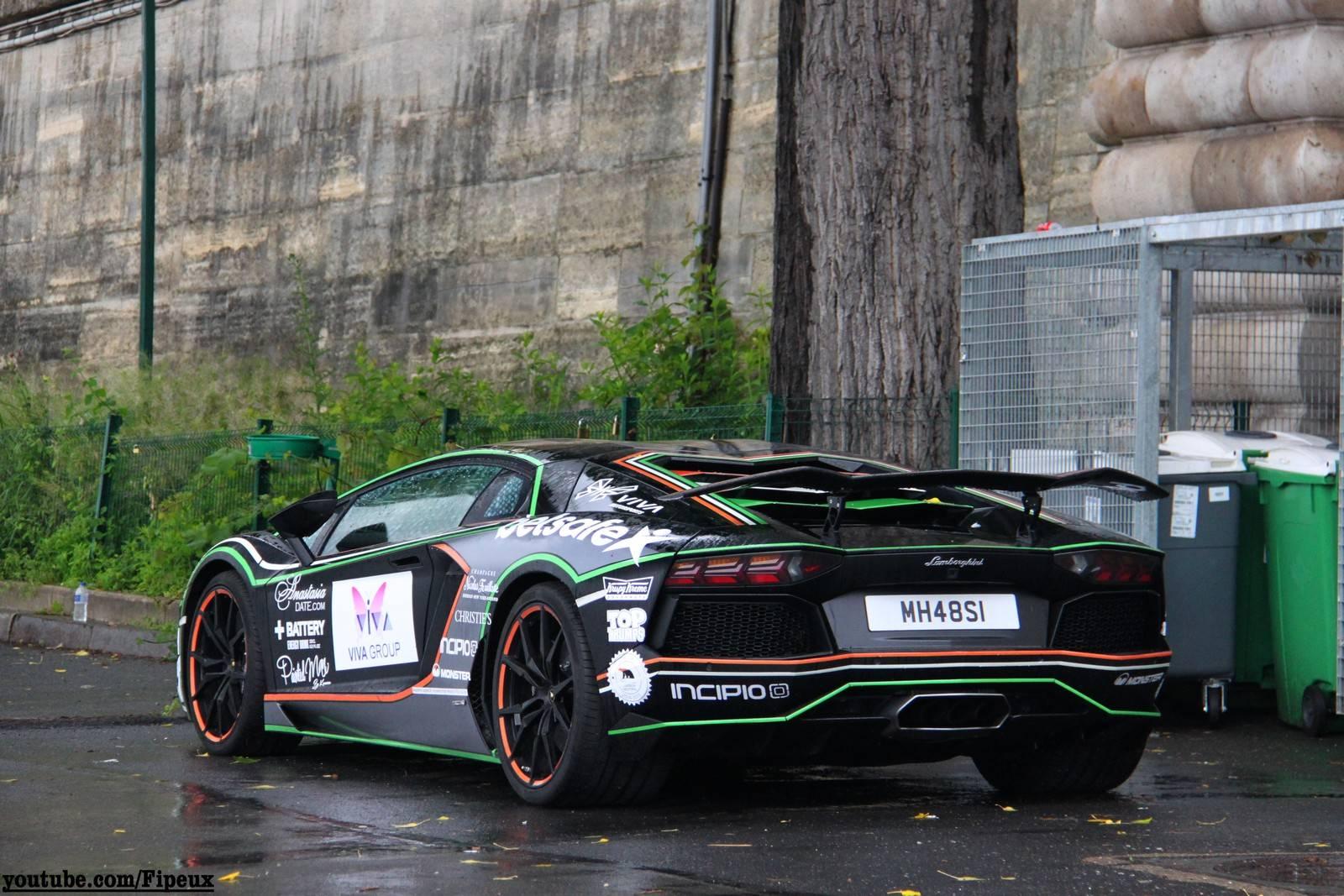 2014 Gumball 3000 Arrival in Paris - GTspirit