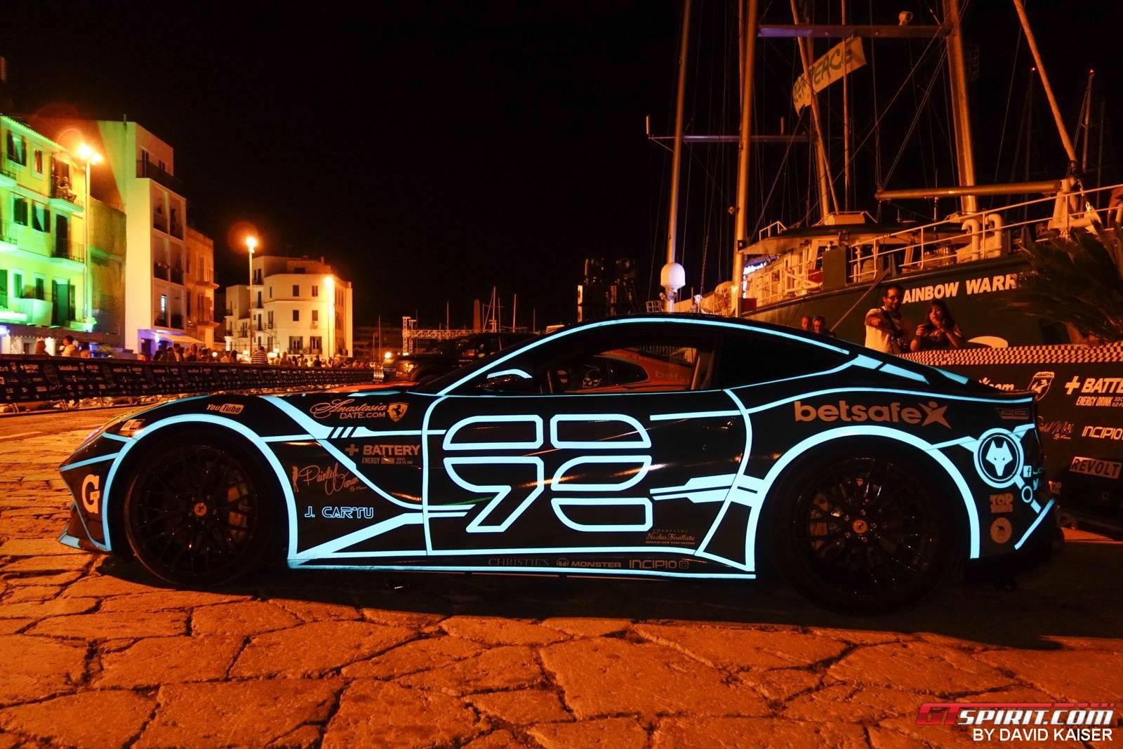 Gallery 2014 Gumball 3000 Finish Line In Ibiza Gtspirit
