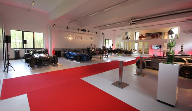 New Donkervoort location in Germany officially opened