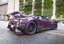 Photo Of The Day: Lewis Hamilton's Pagani Zonda 760 LH in Monaco!