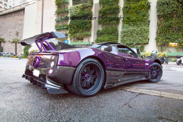 photo of the day lewis hamilton 39 s pagani zonda 760 lh in monaco gtspirit. Black Bedroom Furniture Sets. Home Design Ideas