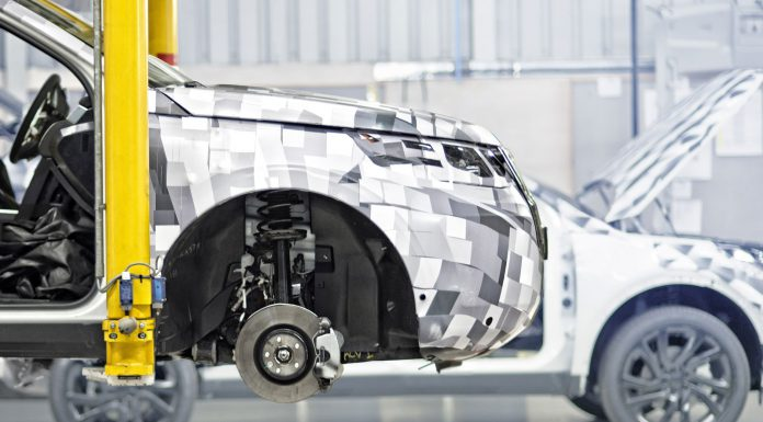 Range Rover Prepares U.K. Factory for Discovery Sport Production