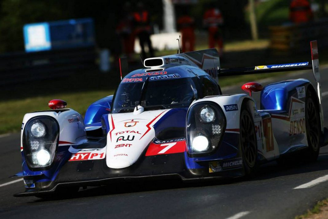 Toyota Clinches Pole Position After Final Qualifying