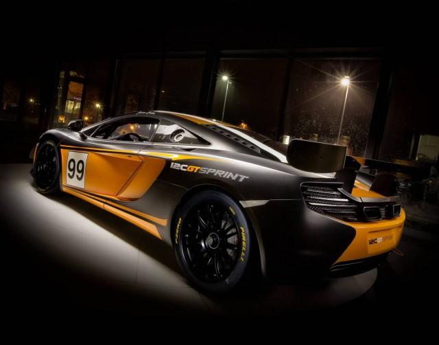 McLaren 12C GT Sprint at McLaren Philadelphia
