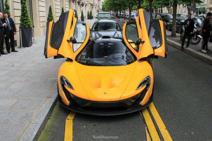Video: Qatari McLaren P1 Revving in Paris