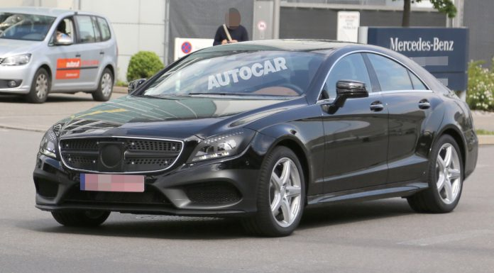 Facelifted Mercedes-Benz CLS Spotted Before Goodwood Debut