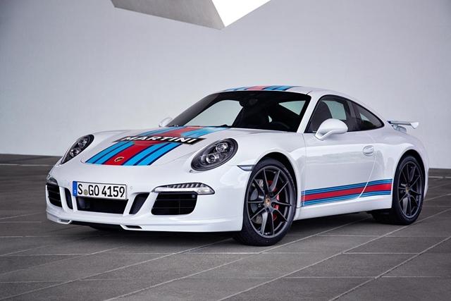 Official: Porsche 911 S Martini Racing Edition