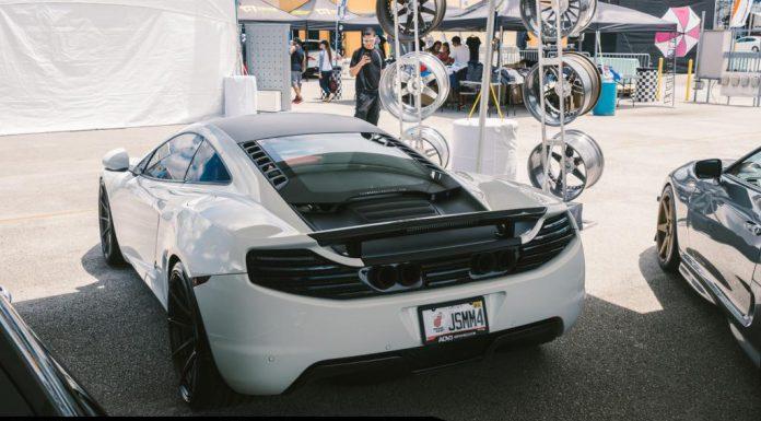Gorgeous White McLaren 12C by Fabspeed and ADV.1 Wheels