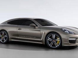 Porsche Panamera Coupe Rendered